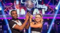 Strictly winner Ore's advice to the next stars of the show