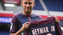 Fans flock for Neymar strip