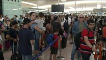 ماذا يحدث في مطارات أوروبا؟