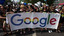 Google gender gap questioned
