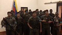 """""""Nos declaramos en legítima rebeldía"""", el video del capitán Caguaripano que se rebeló contra el gobierno de Maduro en Venezuela"""