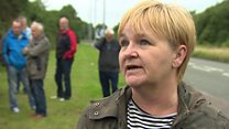 Residents claim prison site 'not suitable'