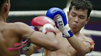 Thai Boxing pulls in the tourist crowds
