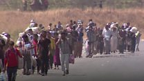 ယာဇီးဒီးတွေကို အိုက်အက်စ်လက်က ကယ်တင်ဖို့ ကြိုးစားသူများ