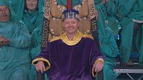 Seremoni'r Coroni / Crowning Ceremony