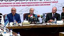 دومین قرارداد فرانسه و ایران برای تولید خودرو؛ رنو سالی ۱۵۰ هزار ماشین میسازد