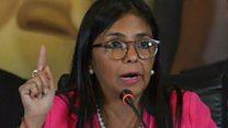 المرأة الأقوى من الرئيس في فينزويلا