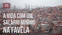 Três filhos, um barraco: auxiliar de limpeza sustenta família com um salário mínimo em favela