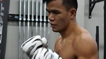Filipino boxer aiming for UFC glory