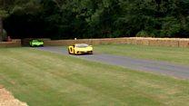 """مهرجان """"غود وود"""" للسيارات السريعة في بريطانيا"""