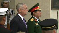 Bộ trưởng Quốc phòng Mỹ tiếp Tướng Ngô Xuân Lịch
