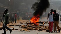 'No cause for panic' despite Kenya protests