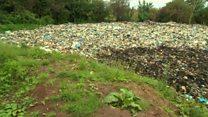 Landowner told to move 'disgusting' waste