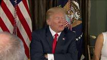 """Donald Trump promet du """"feu et de la fureur"""" à Kim Jung-Un"""