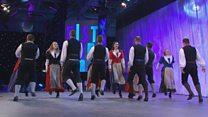 Parti Dawnsio Gwerin dan 25 oed (90) / Folk Dancing Group under 25 yrs (90)