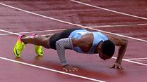 Makwala qualifies for the 200m semis