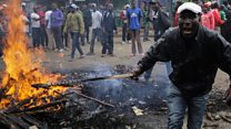 Kenya's day of tension after polls