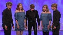 Ensemble lleisiol 10-26 oed: Cystadleuaeth Cymdeithas Eisteddfodau Cymru (201) / Vocal ensemble 10-26 yrs (201)