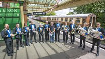 How can a brass band and a steam train help you understand the universe?