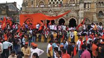 The protest march that brought Mumbai to a halt
