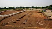 'Roman remnants' found on housing site