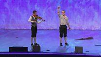 Dawns Stepio Unigol i Fechgyn dros 16 oed (93) / Boys' Solo Step Dance over 16 yrs (93)