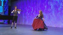 Dawns Stepio Unigol i Ferched dros 16 oed (94) / Girls' Solo Step Dance over 16 yrs (94)