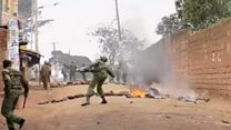Kenya police clash with protesters