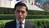 افغان ځوان چې ملګرو ملتونو کې به جایزه ترلاسه کړي
