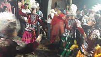 मध्यपुरका 'सलचाँ प्याखँ' नाच