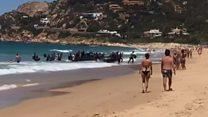 Не на курорт: мігранти висадились на іспанському пляжі