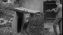 The air raid shelter still standing