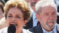 Dilma Rousseff on Lula: It's a 'coup'