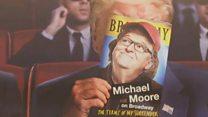 Michael Moore skewers Trump - who cares?