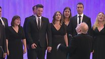 Côr Cymysg heb fod yn llai nag 20 mewn nifer (Cystadleuaeth 28) / Mixed choir with over 20 members (Competition 28)