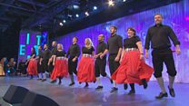 Dawns Stepio i Grŵp (91) / Step Dance Group (91)