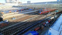 London Waterloo: Work on new platform underway