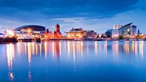 Cardiff Bay transformed in 30 years
