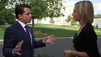 Emily Maitlis meets Anthony Scaramucci