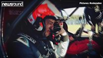 Former F1 driver tears of joy at his son!