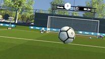Could VR help injured footballers?