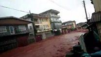 Оползень в Сьерра-Леоне: сотни погибших