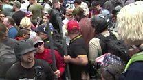 Trump épinglé au sujet de la marche des nationalistes blancs en Virginie