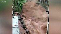 Deslizamientos en Sierra Leona