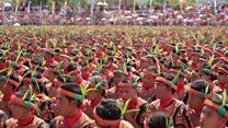 Танець тисячі рук: індонезійці встановили рекорд