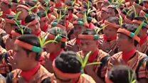 انڈونیشیا میں 'ہزاروں ہاتھوں کا رقص'