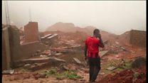 ادامه کمکرسانی به آسیب دیدگان از رانش زمین در سیرالئون