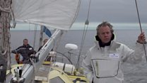 The man trying to sail to the North Pole