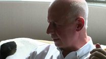 A man dying from cancer is suing his former employers