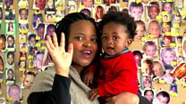 En Afrique, ces bébés vedettes de spots publicitaires